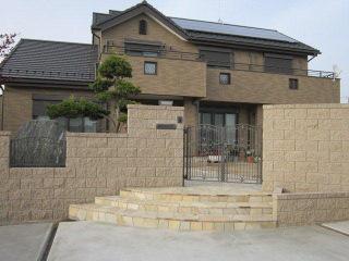 加須市 ガーデンルームのある贅沢なクローズ外構