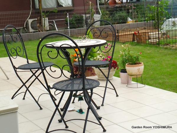 オープンとクローズを使い分けた庭 かすみがうら市