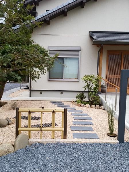 稲敷市 O様の和の庭工事施工例
