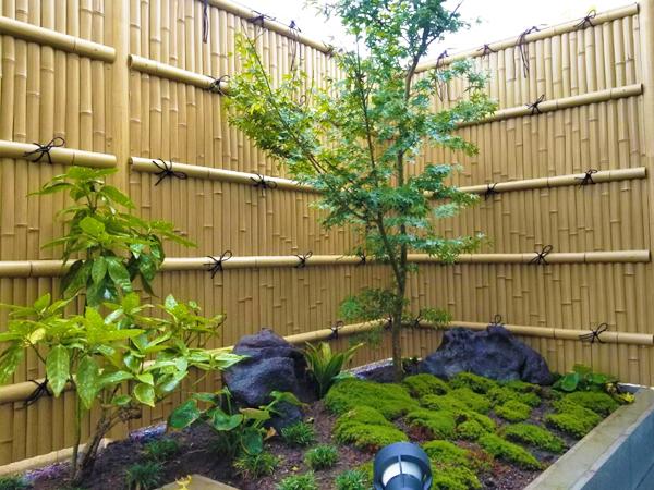 浴室で和庭園を楽しむ施工例 つくば市