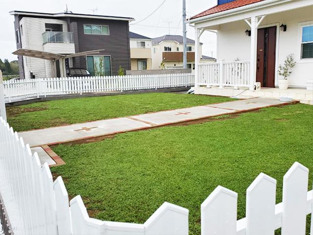 阿見町の外構と庭 施工例 | ガーデンルームよしむら